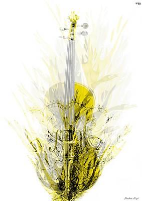 The Violin's Prayer Poster by Sandrine Kespi