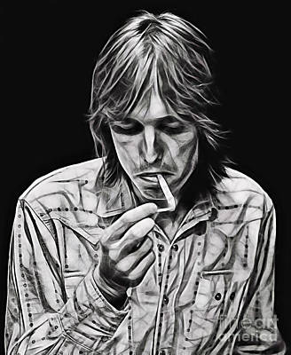 Tom Petty Collection Poster by Marvin Blaine