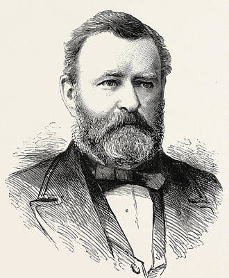Ulysses S Grant Poster by American School