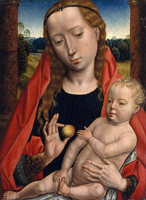 Virgin And Child Poster by Hans Memling