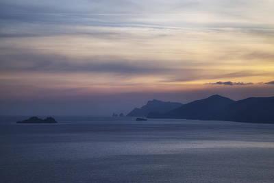 Amalfi Coast Poster by Joana Kruse