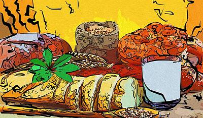 Art Food Pic Poster by Michael Vicin