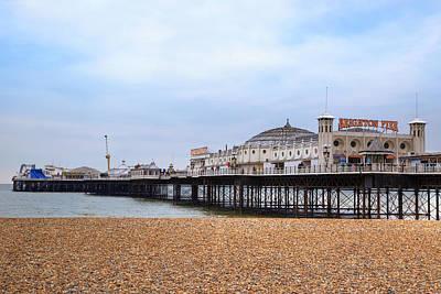 Brighton Pier Poster by Joana Kruse