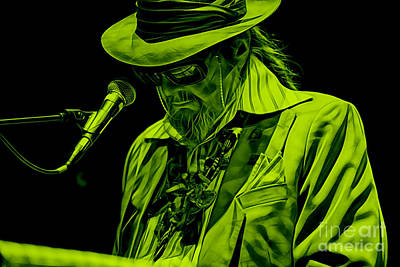 Dr. John Collection Poster by Marvin Blaine