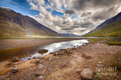 Loch Etive Poster by Stephen Smith