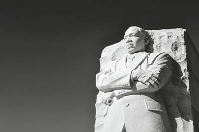 Martin Luther King Statue Poster by Brandon Bourdages