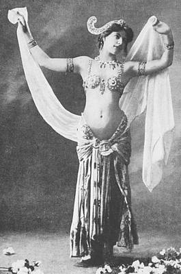 Mata Hari Poster by French School