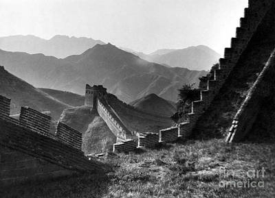 The Great Wall Of China Poster by Granger