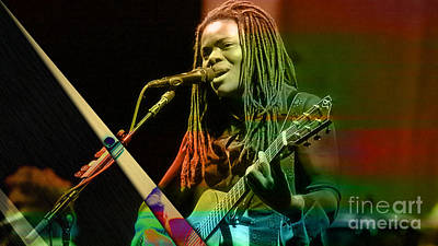 Tracy Chapman Collection Poster by Marvin Blaine