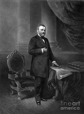 Ulysses S. Grant, 18th American Poster by Photo Researchers