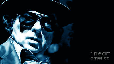 Van Morrison Collection Poster by Marvin Blaine