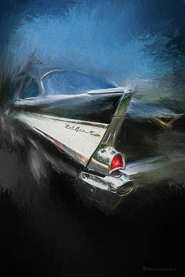 57' Belair Poster by Marvin Spates