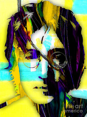 John Lennon Collection Poster by Marvin Blaine