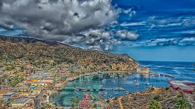 Catalina Island Harbor Poster by Mountain Dreams
