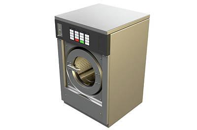 Industrial Washing Machine Poster by Allan Swart