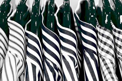 Men's Shirts Poster by Tom Gowanlock