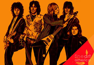 Tom Petty And The Heartbreakers Collection Poster by Marvin Blaine