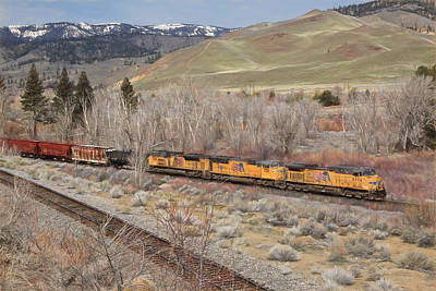 6056 Eastbound Poster by Donna Kennedy