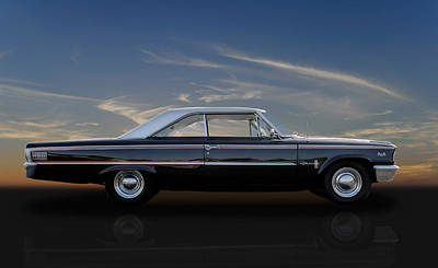 63 Ford Galaxie 500xl Poster by Frank J Benz