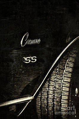 68 Camaro Ss Poster by Tim Gainey
