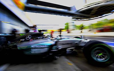 Formula 1 Monza Poster by Srdjan Petrovic