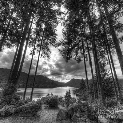 Lake Cushman Poster by Twenty Two North Photography