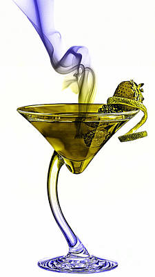 Cocktails Collection Poster by Marvin Blaine