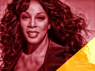 Donna Summer Collection Poster by Marvin Blaine