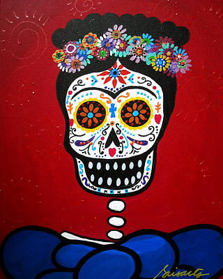 Frida Kahlo Poster by Pristine Cartera Turkus