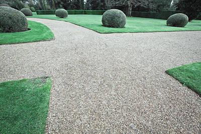 Garden Path Poster by Tom Gowanlock