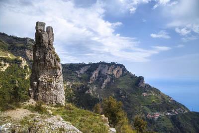 Sentiero Degli Dei - Amalfi Coast Poster by Joana Kruse
