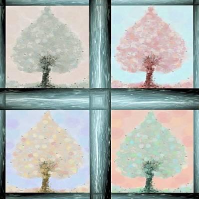 Tree Of Life Poster by Sandrine Kespi