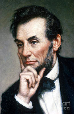 Abraham Lincoln 16th American President Poster by Photo Researchers