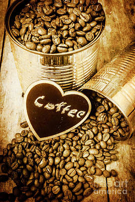 A Coffeehouse Romance Poster by Jorgo Photography - Wall Art Gallery