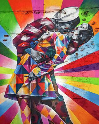 A Colorful Romance Poster by Az Jackson