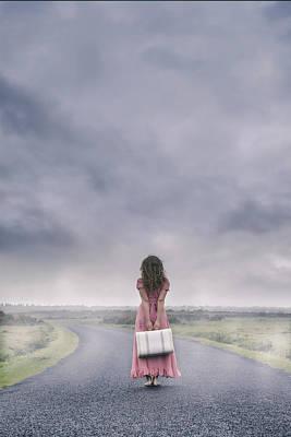 A Foggy Morning Poster by Joana Kruse