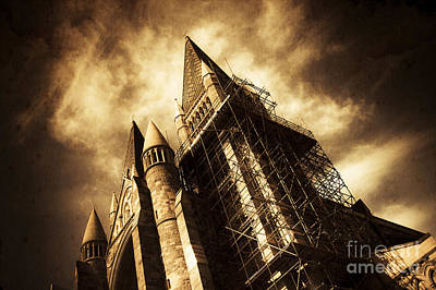A Gothic Construction Poster by Jorgo Photography - Wall Art Gallery