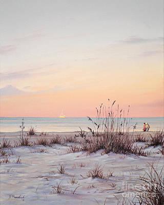 A Morning Stroll Poster by Joe Mandrick