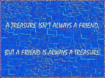A Treasure Poster by Will Borden