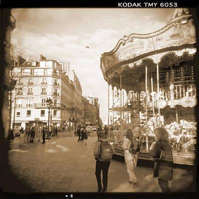 A Walk Through Paris 4 Poster by Mike McGlothlen