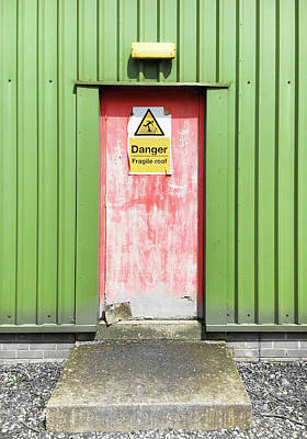 A Warehouse Exterior Poster by Tom Gowanlock