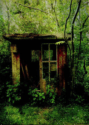 Abandoned Hideaway Poster by Sarah Vernon