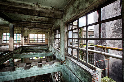 Abandoned Industrial Alcohol Distillery  Poster by Dirk Ercken