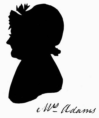 Abigail Adams Poster by The Granger Collection