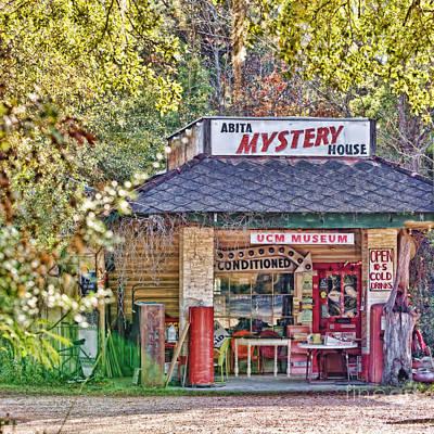 Abita Mystery House Poster by Scott Pellegrin