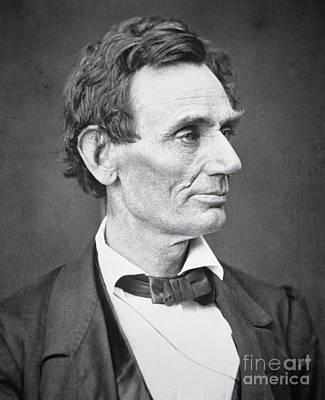 Abraham Lincoln Poster by Alexander Hesler