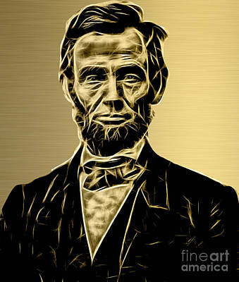 Abraham Lincoln Collection Poster by Marvin Blaine