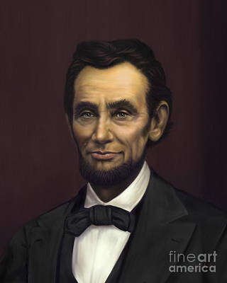 Abraham Lincoln Poster by Sue  Brehant