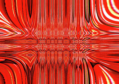 Abstract By Paint Pro  # 31 Poster by Allen Beatty