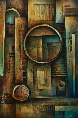 Abstract Design 64 Poster by Michael Lang